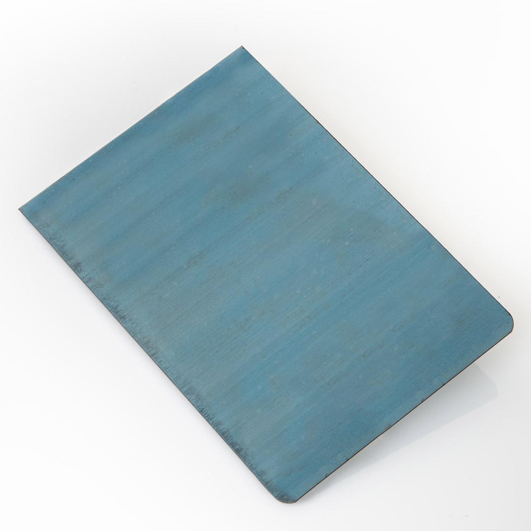 536 lame acciaio blu