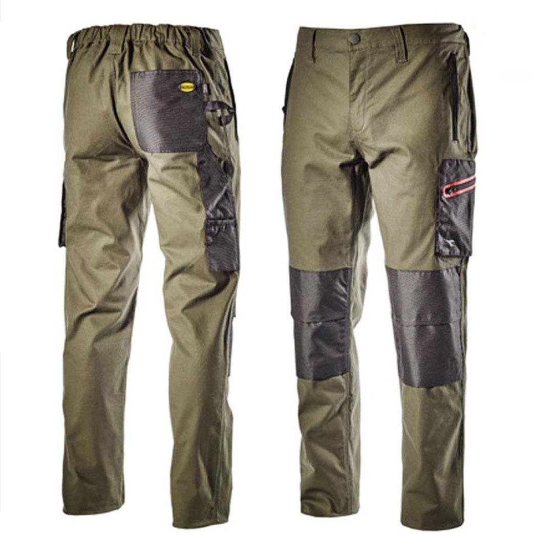 pantaloni-stretch-verde